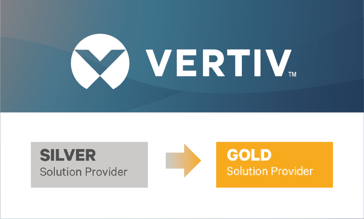Certification Gold Vertiv